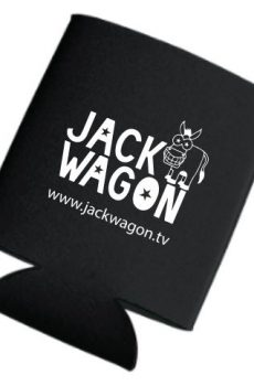 Jackwagon Koozie Black